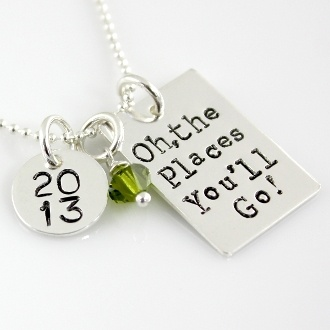 oh the places you'll go grad charm