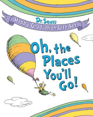 Oh the places you'll go graduation gift set favors