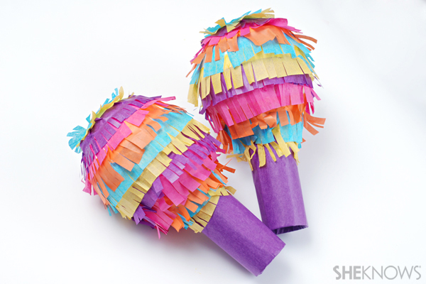 pinata-maracas for Cinco de mayo