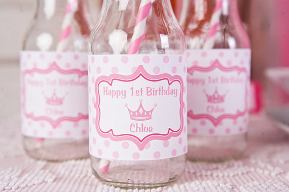 princess drinks for princess party