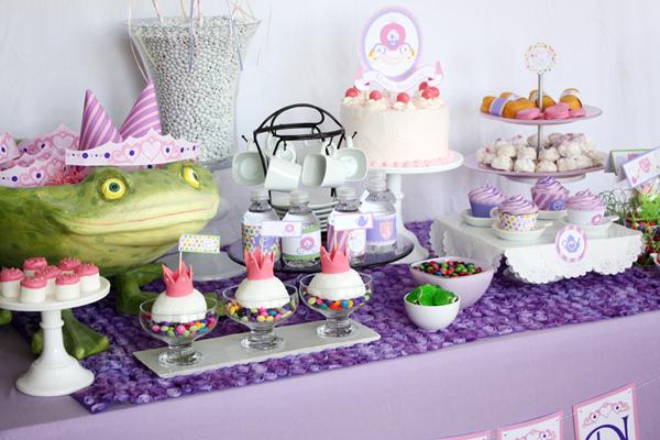 princess tea party birthday party