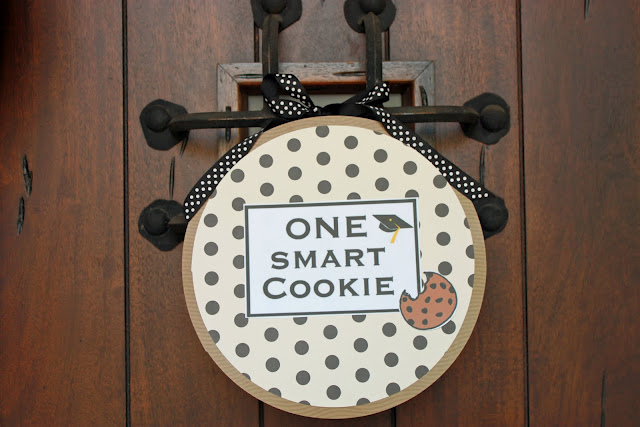 Smart Cookie Graduation Party door Wreath