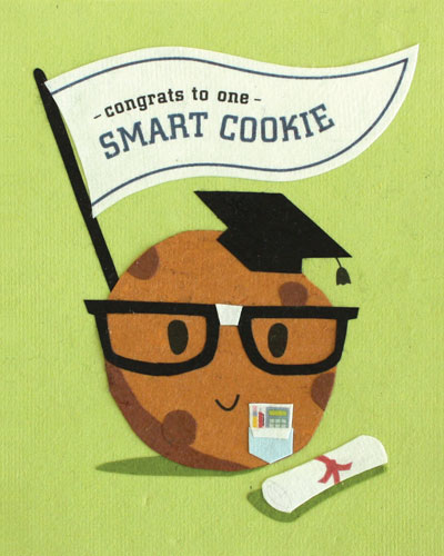 Smart cookie signs for grad party