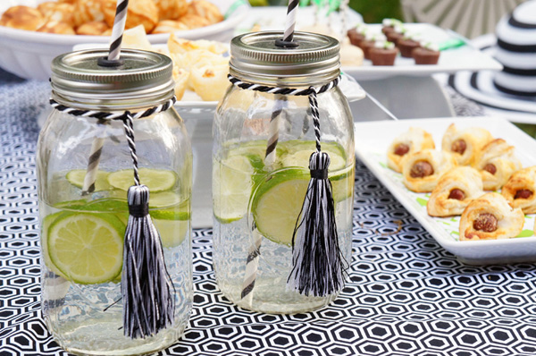 tassel drink ideas for grad party