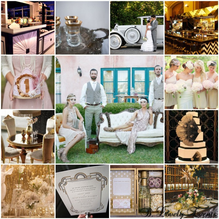 {The Greatest!} Great Gatsby Inspiration for every occasion