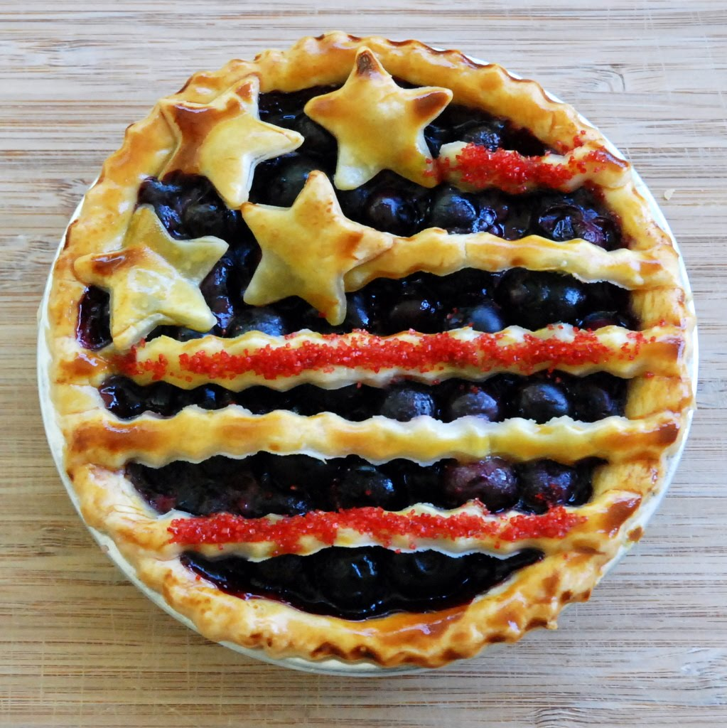 DIY Tiny Patriotic Pies