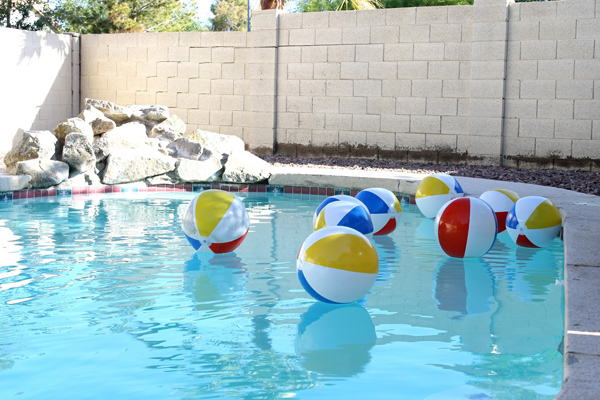 Beach Ball Bash Pool Party