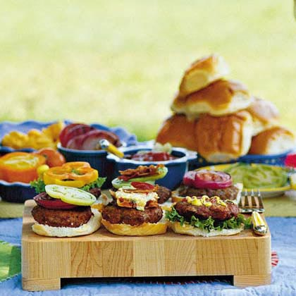 Burger bar ideas for summer bbq