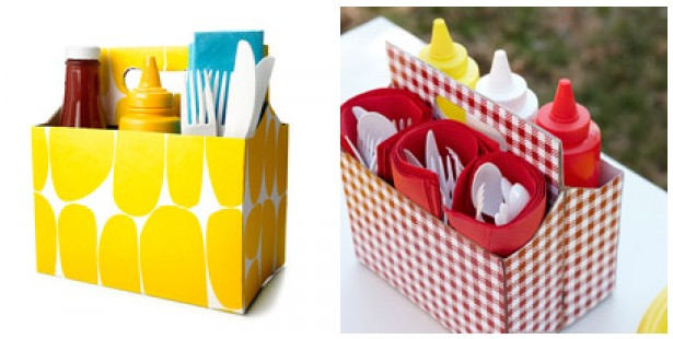 Cute six pack Caddy for summer BBQ