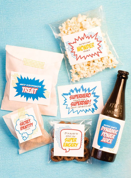 Father's Day Superhero Ideas- B. Lovely Events