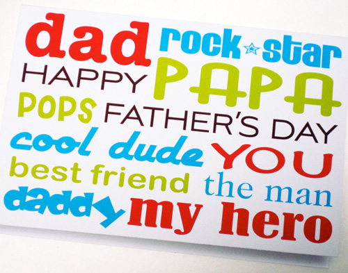 free printable fathers day cards via turnaround design