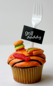 Grill daddy cupcakes for fathers day