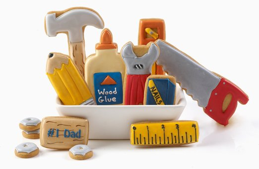 handyman cookies for fathers day