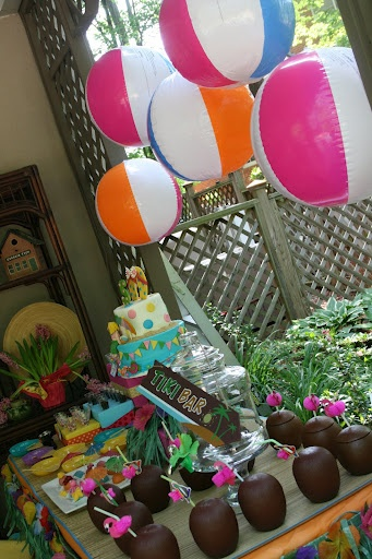 beach party decor that up we all a b lovely 557