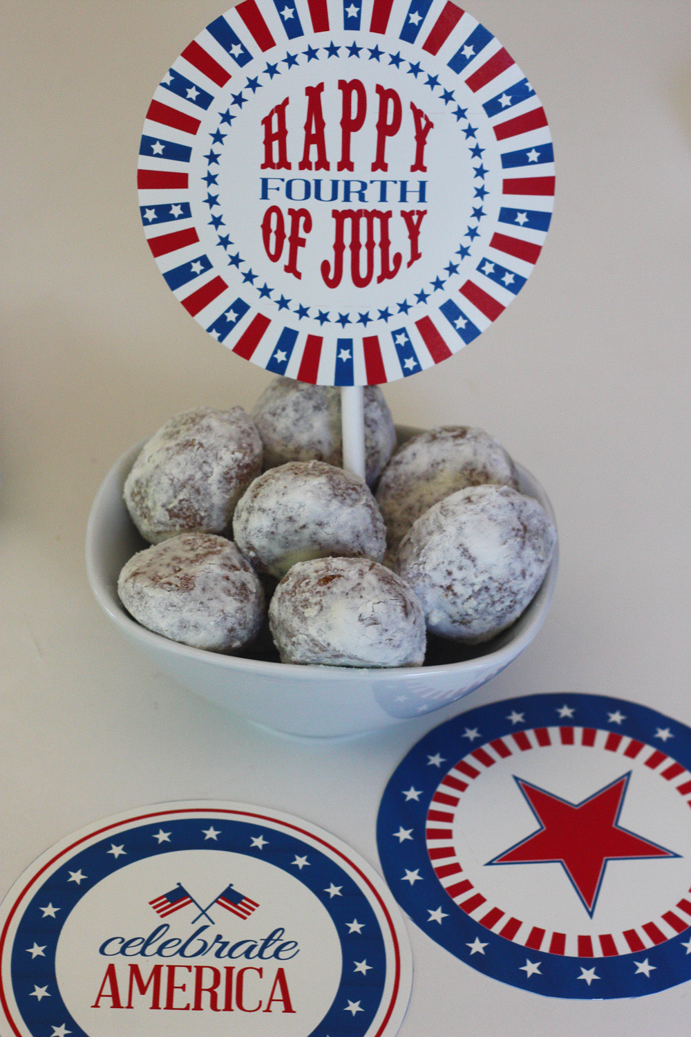 Happy 4th of July free printables