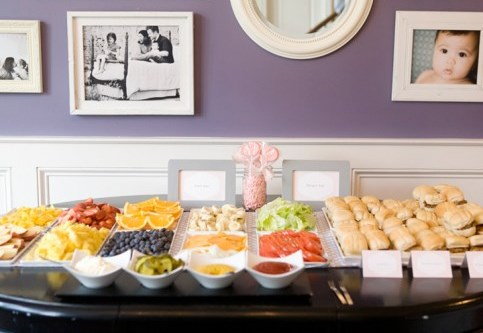 the burger bar baby shower adore this baby q from cobble stone rue