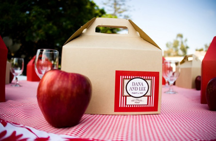 picnic wedding box