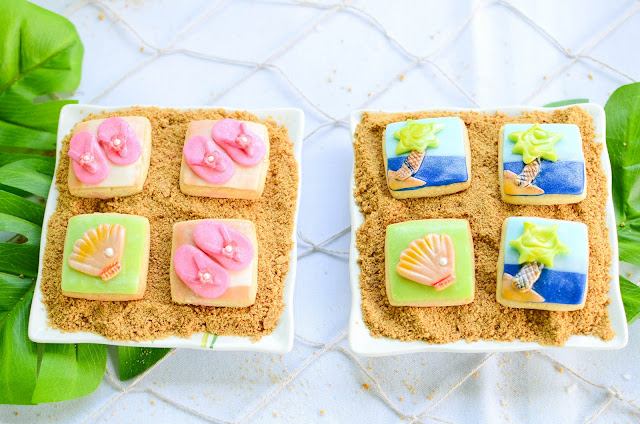 sandy beach cookies