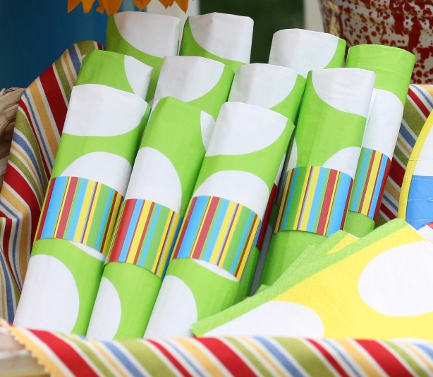 free printable backyard bbq napkin rings