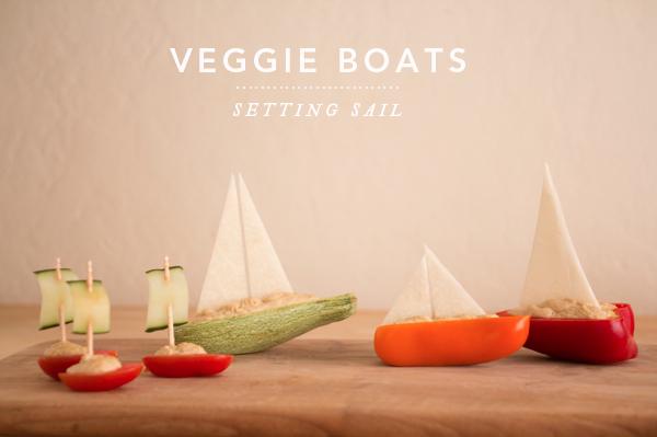 veggie sail boats