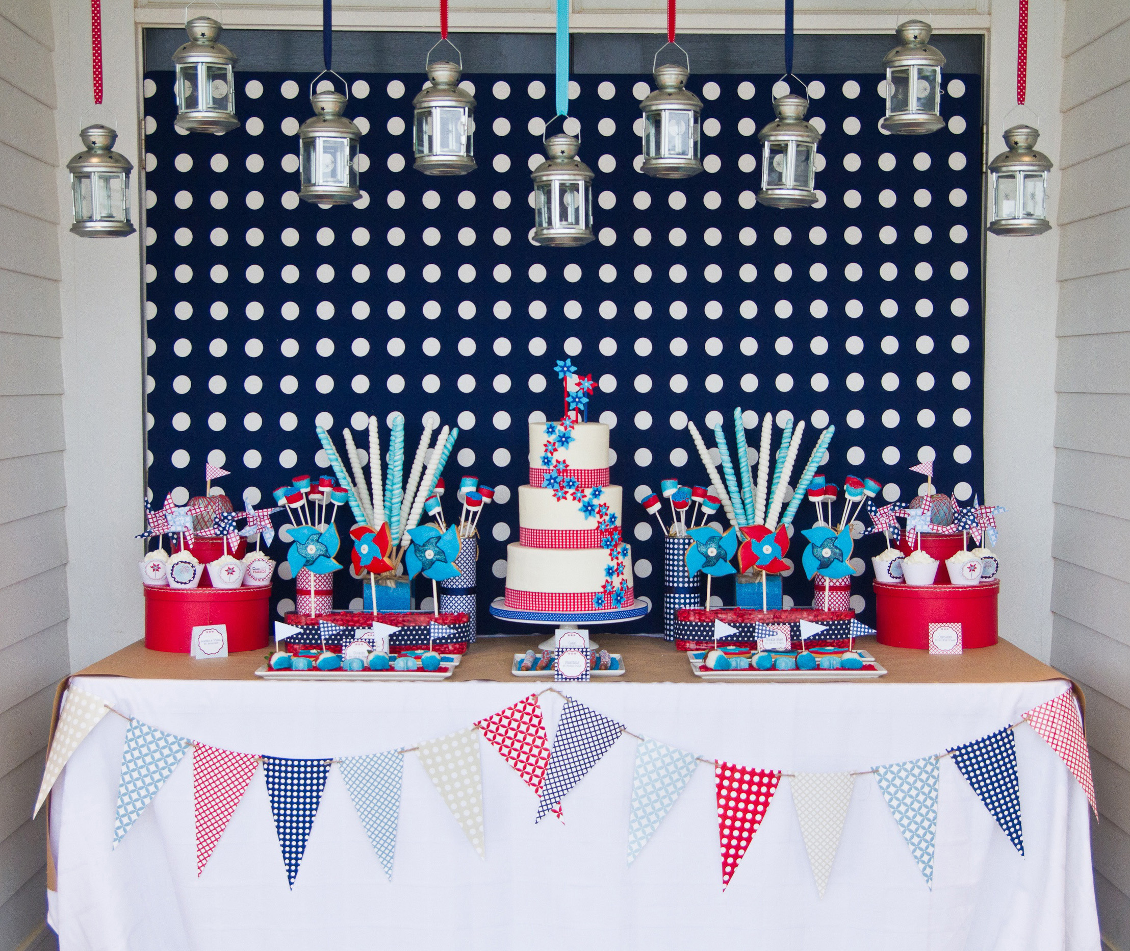 4th of july dessert and fabulous food b lovely events for Fourth of july party dessert ideas