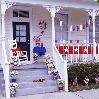 4th of July porch decor ideas