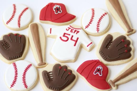 Amazingly decorated baseball cookies!