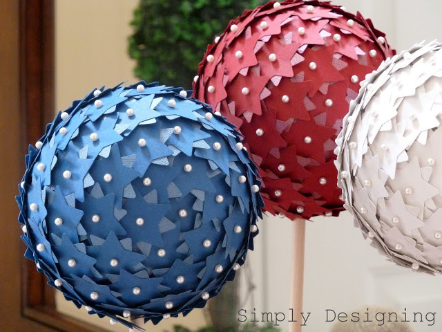 DIY 4th of July Topiary