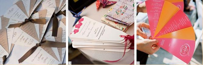 Free Wedding Fan Programs And Program Templates