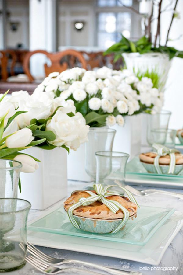 Fresh White Tablescape