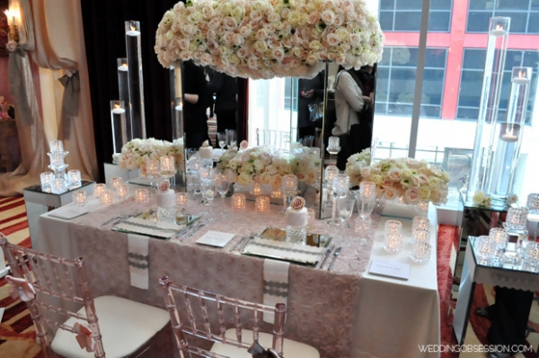 A Lovely Vintage Wedding Tablescape B Lovely Events