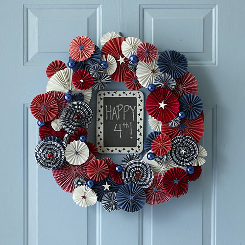 Stunning 4th Of July Wreath