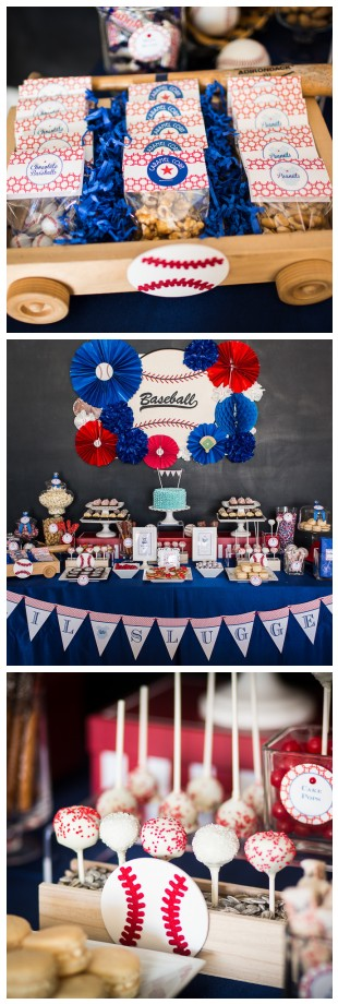 Super cute baseball baby shower!