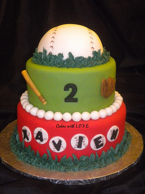 Super Cute Baseball Cake