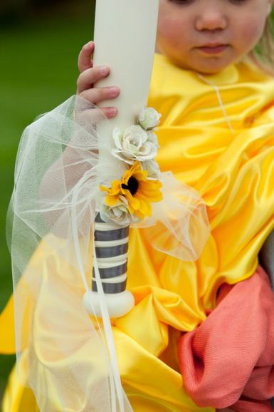 baseball bat for the flower girl